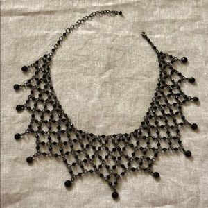 Victorian Gothic Bead Choker Necklace